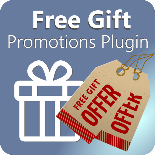 Free gifts promotions plugin